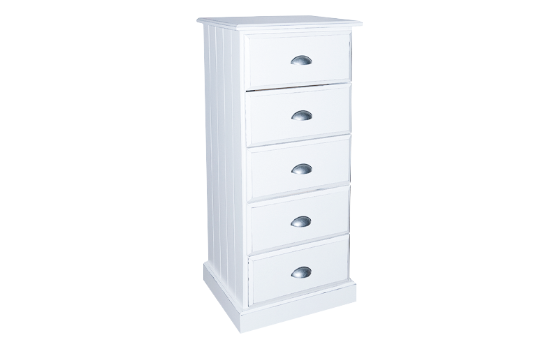 Hudson 5 Drawer Lingerie Tallboy
