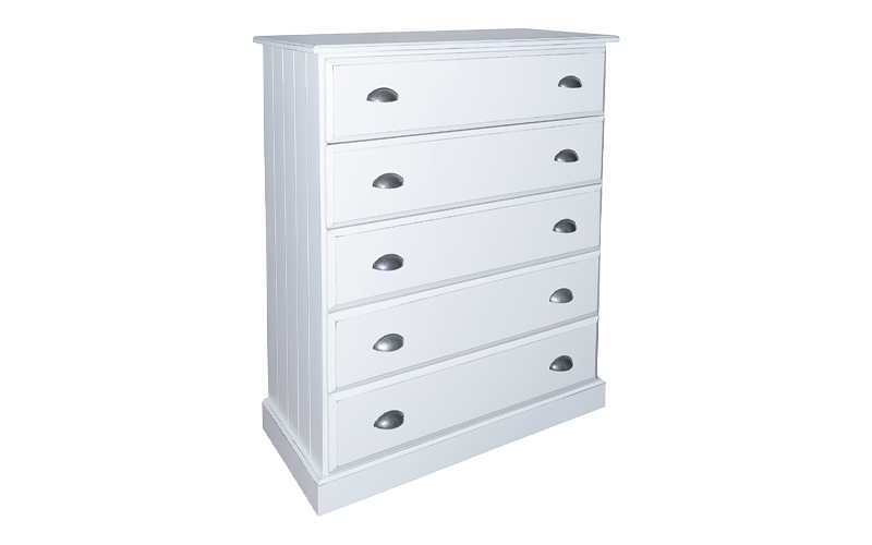 Andorra 5 Drawer Tallboy