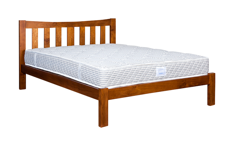 Delta Slatted Bed Frame – Low Foot