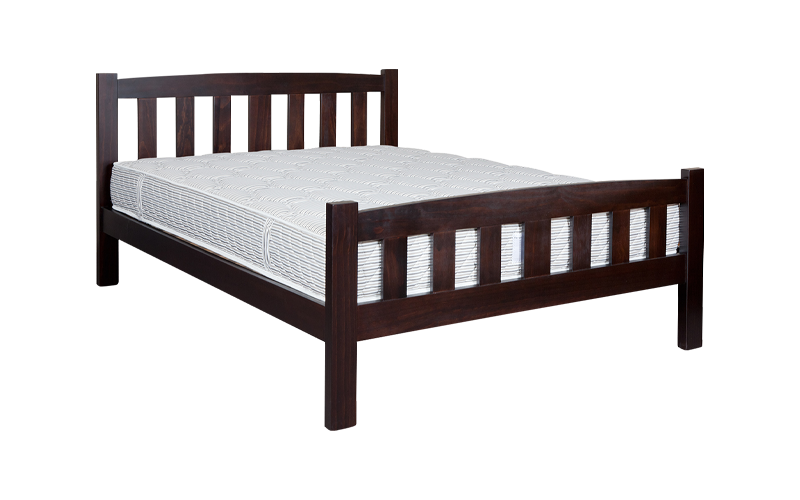 Hugo Slatted Bed Frame – High Foot